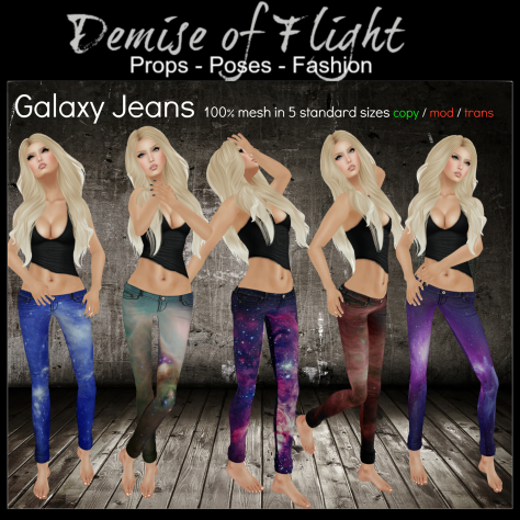 JEANS Advert Galaxy